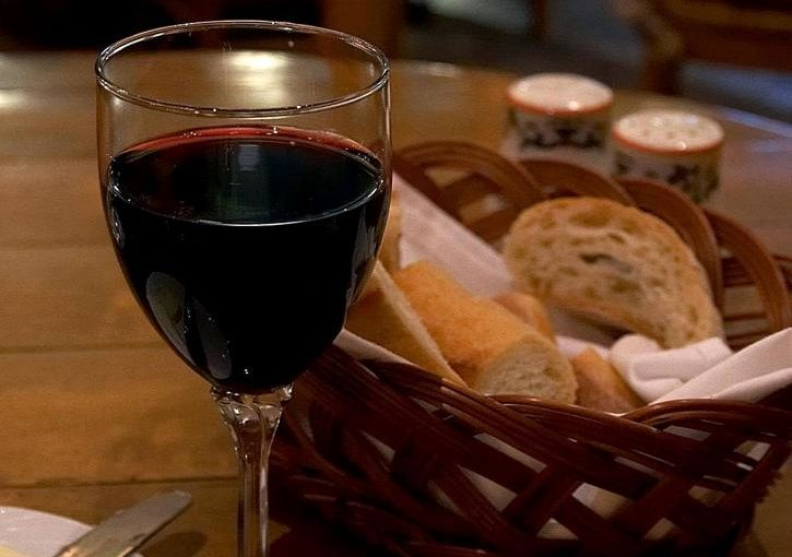 Communion Eucharist Bread Wine